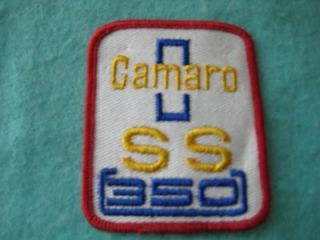 Vintage Chevrolet Camaro SS350 Patch 2 5/8 X 3 1/8