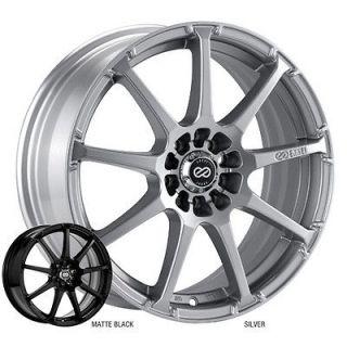 ENKEI EDR9 17x8 Performance Series Wheel Wheels 5x105/110 Matte Black