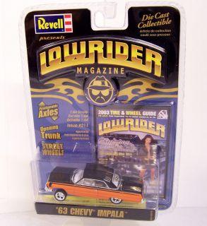 LOWRIDER MAGAZINE 1/64 Diecast REVELL 1963 63 Chevrolet Chevy Impala