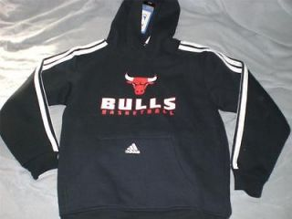 CHICAGO BULLS NBA PULLOVER HOODED SWEATSHIRT YOUTH MED(10/12) NEW