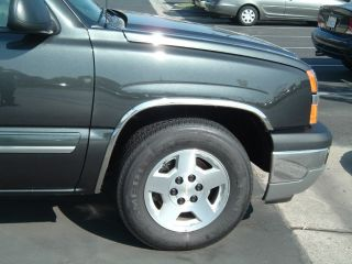 CHEVROLET COLORADO W/O FLARES 2004   2010 TFP CHROME FENDER TRIM