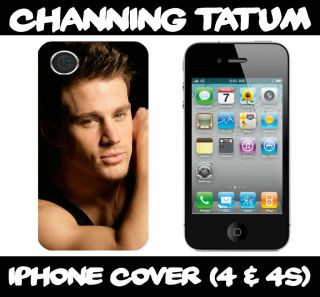 Channing Tatum I phone 4/4S hard case fits iphone 4 /4s mobile phone