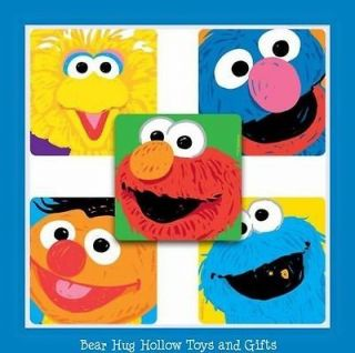 15 Sesame Street Elmo Cookie Monster Big Bird Ernie Grover Stickers