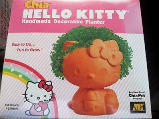 NEW, Chia Pet / HELLO KITTY / Handmade Decorative Planter