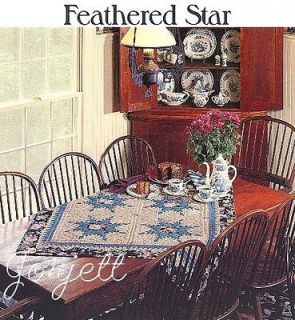 Feathered Star Quilts, Diamonds & Stars quilt pattern & templates
