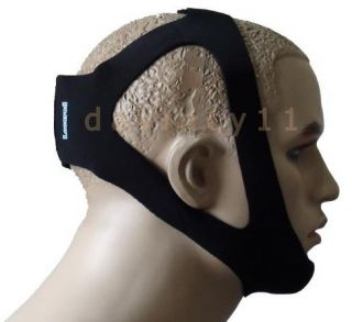 LOCARED Professional Anti Stop Snore Snoring Chin Strap Belt