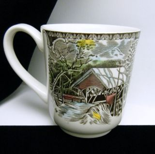 Johnson Bros Friendly Village China Coffee Mug Mugs