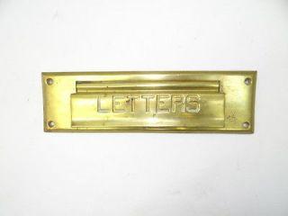 Solid Brass Stamped 56 Front Door Mail Letter Postal Slot Hardware