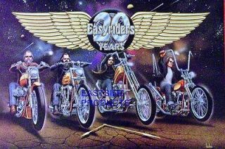 PRINT 5 DAVID MANN EASYRIDERS 20TH ANNIVERSARY DAVE MANN MOTORCYCLE