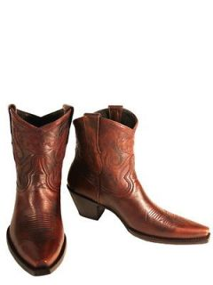 OLD GRINGO Toluca Red 7 Womens Cowboy Boots L1082 2 (Orig.$350