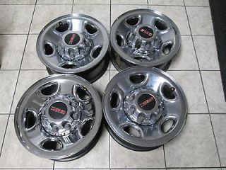 16 GMC SIERRA CHEVY SILVERADO 2500 HD FACTORY CHROME WHEELS RIMS