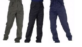 blue army cargo pants