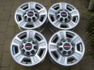 17 Chevy GMC rims wheels OEM 2500HD 3500HD duramax 8 hole alloy
