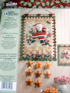 HO Santa Christmas Advent Countdown Calendar Kit Mary Engelbreit