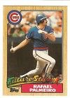 1987 Topps Rafael Palmeiro Rookie Chicago Cubs NM/MT