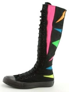 CONVERSE~Chuck Taylor~ALL STAR~XX HI~Black~NEON~Knee High~Size 4,5,6,7