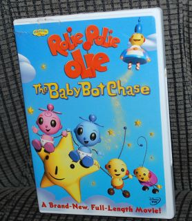 Video Movie Rolie Polie Olie The Baby Bot Chase Playhouse Disney BONUS