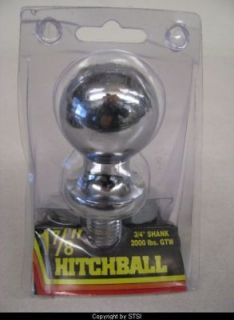 Acar Chrome Plated 1 7/8 Hitch Ball CH 12K ~STSI