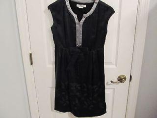 Authentic Chloe navy blue silk dress  SZ FR 36 US 6