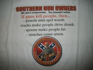 Dixie Tshirt Southern Gun Owners Redneck Confederate Rebel Flag Right