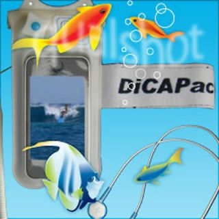 WATERPROOF CASE HOUSING FOR ALL IPOD TOUCH & CLASSIC