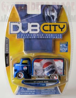 Jada Dub City PEPSI 47 Ford COE