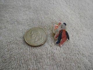 McDonalds 2000 Ty Teenie Beanie Babies Patriotic Bear Pin