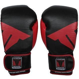 NEW Throwdown Leather Super Bag Boxing Gloves Size X Large 18oz