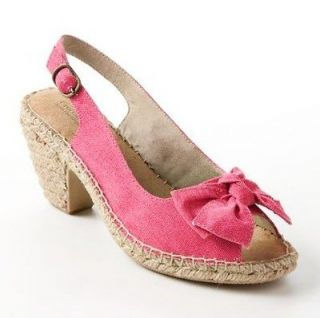 Croft & Barrow sole (sense)ability Peep Toe Espadrilles Womens