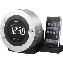 SONY CD Clock Radio for iPod & iPhone ICF CD3iP ~NEW~ ICFCD3iP