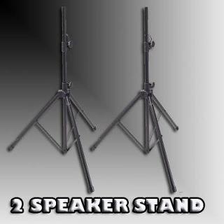 Newly listed 2) GEMINI ST 04 Tripod Speaker Stands Pro DJ Pole Mount