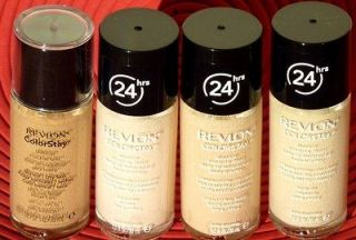 Revlon Colorstay Make Up Foundation Buff / lvory / Beige Natural Oily