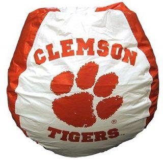 Clemson Tigers Bean Bag Chair   BB 40 CLEMSON