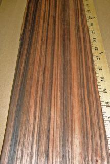 Macassar Ebony wood veneer 5 x 32 with no backing (raw veneer)