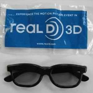New Real D 3D Glasses Lot (Sealed Movie Theater Passive 3 D TV Specs
