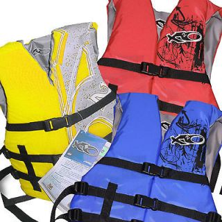 Pack Life Jacket Vest PFD S M L XL US Coast Guard Approved New