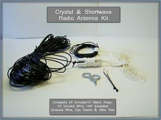 Shortwave Radio Antenna Kit 100 FUN PROJECT ham tube communication