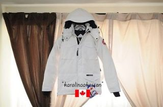 BNWT   CANADA GOOSE CONSTABLE WHITE PARKA COAT JACKET   100% AUTHENTIC