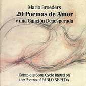 Mirian Conti (piano),Jorge Garza,NEW 2 CD,20 Poemas De Amor