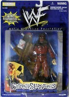 Jakks WWF WWE Super Stunners Kane Exclusive with Grapple Gear