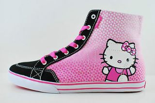 VANS CORRIE HI HELLO KITTY PRISM PINK VN 0NKF79J KIDS WOMEN SHOES ALL