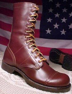 CORCORAN MEN SIZE 10 1/2 EE MADE IN USA NEW BROWN PARATROOPER COMBAT