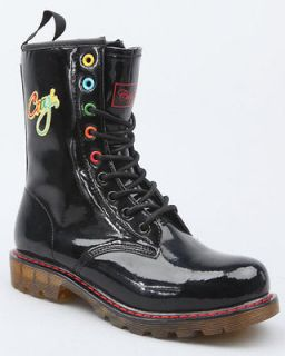 Military Lace Up Coogi Boots For Women (black)