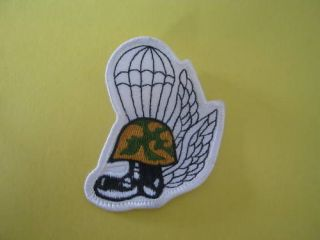 Airborne Parachute Wings Boots Helmet Patch ~ New