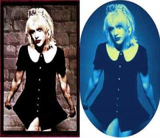 Courtney Love ~ Iron on transfers ~ 2 different designs ~ 2 different