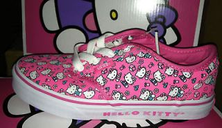 VANS hello kitty KIDS SHOES Atwood KIDS SIZE US10.5~3/UK10~ 2.5