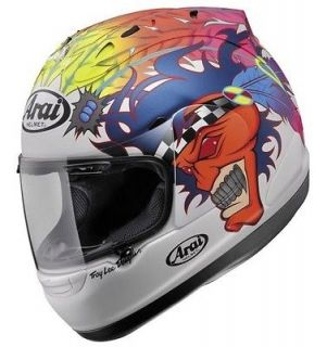 Arai Corsair V Scott Russell Replica Full Face Motorcycle Helmet White