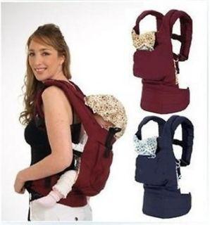 Baby Newborn Carrier Infant Braces Backpack Sling Cotton Wrap Strap