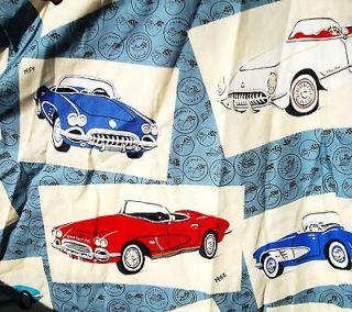 corvette hawaiian shirt in Clothing, Shoes & Accessories