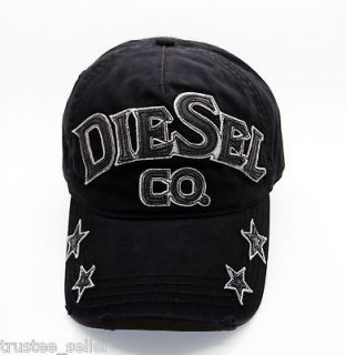 NWT DIESEL Mens Castaban Star Logo Hat PD Trucker Hat Baseball Cap